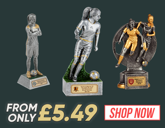 female-player trophies